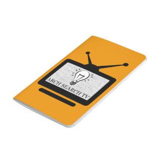 Note notebook Arch Search TV - Pautado Journals