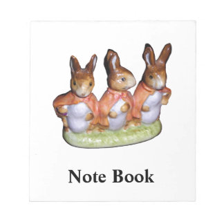 Note Pad - Flopsy, Mopsy and Cottontail