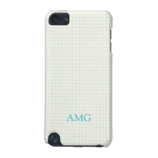 Note Paper Pattern iPod Touch (5th Generation) Covers