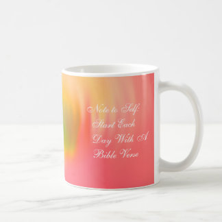Note to Self Start Each Day Coffee Mugs