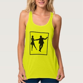 Note! West Coast Swing Dancer Tank Top