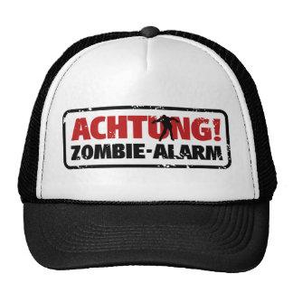 Note! Zombie alarm Cap