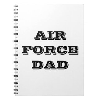 Notebook Air Force Dad