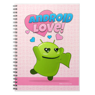 Notebook Android Love
