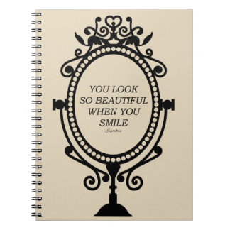 "Notebook ""Beautiful smile when you """