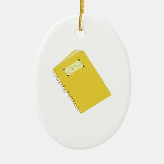 Notebook Christmas Ornament