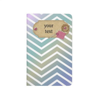 Notebook colorful zigzag