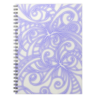 Notebook Floral abstract background