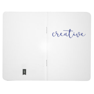 Notebook for writing, journaling, doodling.