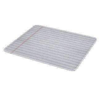 Notebook - Glass Cutting Board
