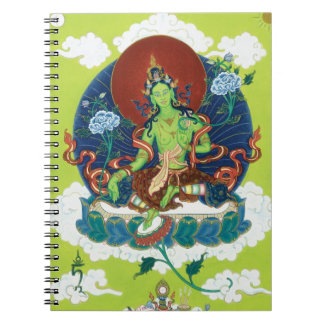 NOTEBOOK Green Tara - The Mother of All Buddhas