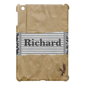 Notebook In Brown Paper Bag Cover For The iPad Mini