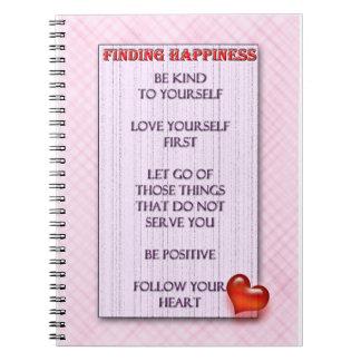 Notebook, Inspirational, Follow your heart Notebook