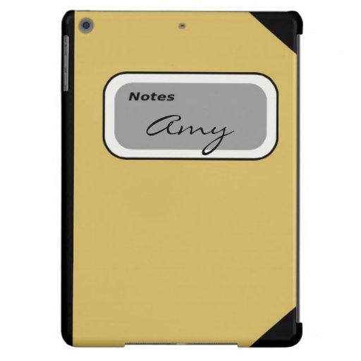 Notebook Ipad Air case
