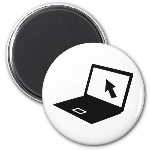 Notebook laptop mouse cursor magnet