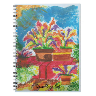 notebook light blue