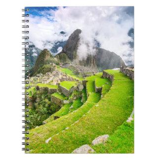 Notebook Machu Picchu, Cusco - Peru