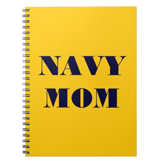 Notebook Navy Mum