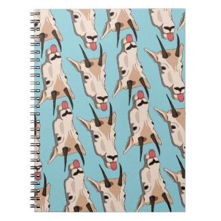 Notebook of goats