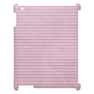 Notebook Pad Pink Cover For The iPad