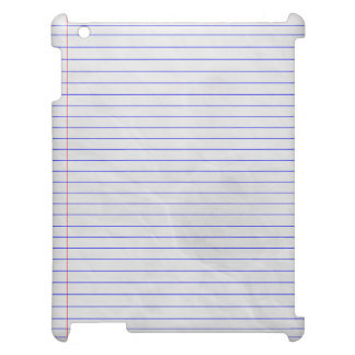 Notebook Pad White iPad Cases
