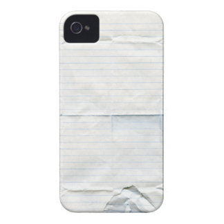 Notebook Paper Case-Mate Case