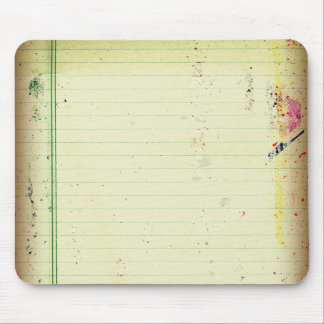 Notebook Paper Mousepad