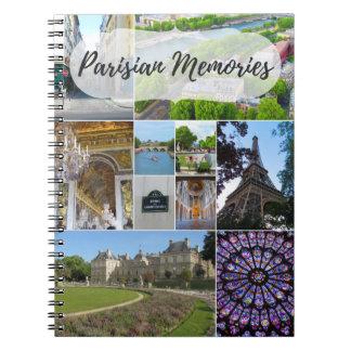 "Notebook ""Parisian Memories """