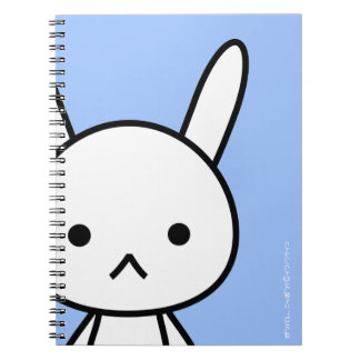 NoteBook - Rabbit - SkyBlue