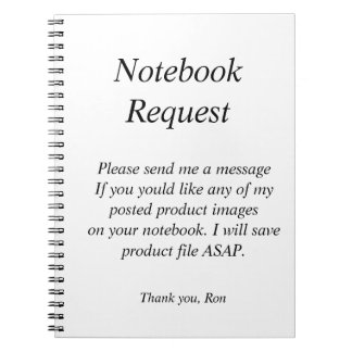 Notebook Request