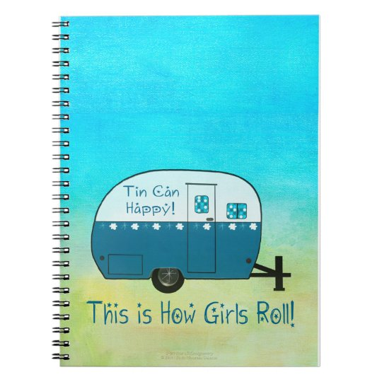 NOTEBOOK | Retro Camper | Personalise It!