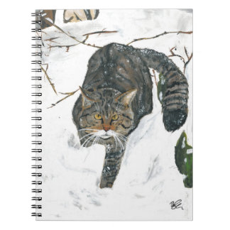 notebook - Scottish wildcat