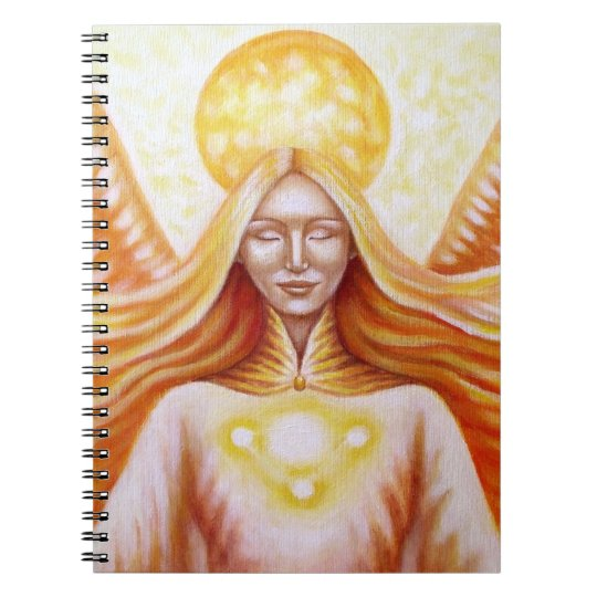 "Notebook ""solar Angel """
