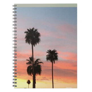 Notebook sunset
