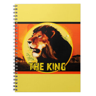 Notebook The King