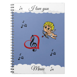 Notebook the musical Love