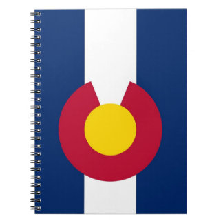 Notebook with Flag of Colorado State