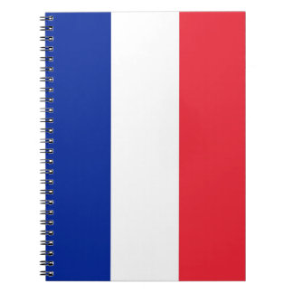Notebook with Flag of France