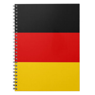 Notebook with Flag of Germany