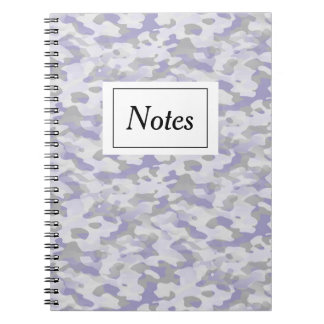Notebook with photo Camouflage