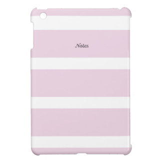 Notebook with Pink Stripes iPad Mini Covers