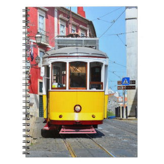 Notebook Yellow Train Portugal