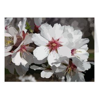 NOTECARD ~ Almond Blossom