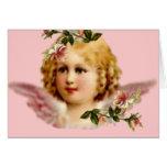 NOTECARD ANGEL VINTAGE GREETING CARDS