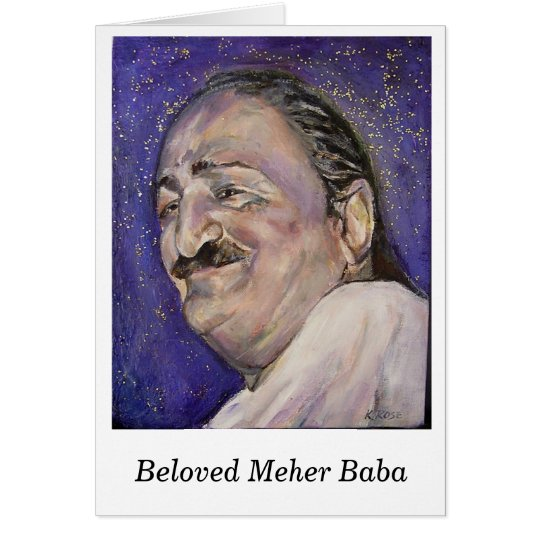 Notecard-- Beloved Meher Baba Card