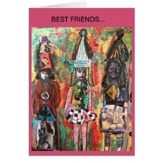 NOTECARD-  BEST FRIENDS... CARD