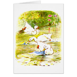 Notecard-Kids Art-Beatrix Potter 5 Card