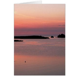 Notecard: Minorca Sunset Card