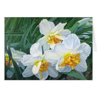Notecard Narcissus Stationery Note Card