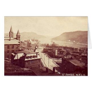 Notecard - St John's, Newfoundland, 1910 Greeting Card